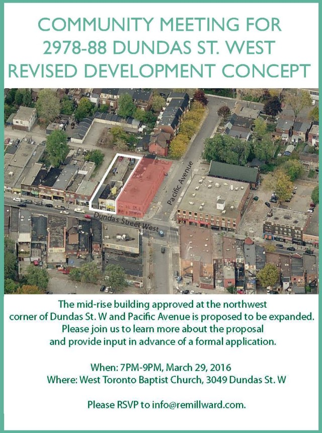 2978-88 Dundas W - Community Meeting1